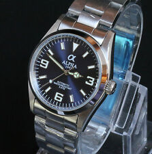 Alpha Explorer Blue Dial Mark 1 Automatic Movement 21 Jewels Brand New