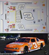 NASCAR DECAL # 3 WHEATIES SPECIAL 1997 MONTE CARLO DALE EARNHARDT