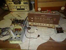 TUBE STEREO AMPLIFIER  S.E ELL 80 + TUNER PREAMP , NORDMENDE  BARBIZON