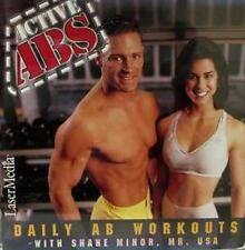 Active Abs Daily Workouts With Shane Minor, Mr. USA PC MAC CD body weight loss!