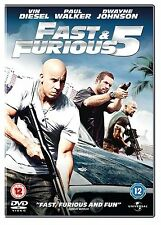 THE FAST AND THE FURIOUS 5 - DVD - REGION 2 UK