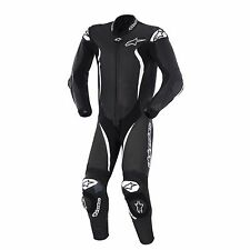 New Alpinestars GP Tech 1pc Leather Race Suit, size 52 Euro / 42 US, Black