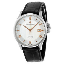 Maurice Lacroix Masterpiece Date Automatic Silver Dial Mens Watch
