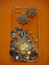 DIY Bling Bling Parfum Decoration for iPhone 4/5/6 Samsung Galaxy S3/S4/S5 etc.