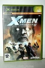 X-MEN LEGENDS II L'ERA DI APOCALISSE GIOCO USATO XBOX ED ITALIANA GD1 35867