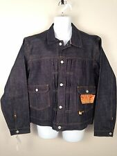 Double RL RRL Polo NWT Dark Blue Japanese Denim R21 Icon Jean Jacket Mens Sz XL