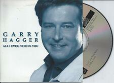 GARRY HAGGER - All i ever need is you CD SINGLE 2TR CARDSLEEVE 2001 BELGIUM