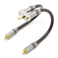 QED Performance Y-SW Adaptor Subwoofer Splitter Cable