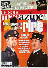 Soir Magazine 5/01/2011; Poelvoorde et Dany Boon/ Miss Belgique/ Hugh Hefner