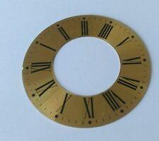 Horloge chapitre/heure ring spun laiton romain 97mm extérieur 52mm intérieur