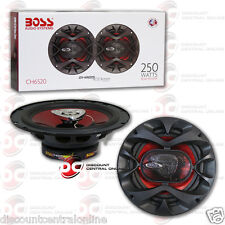 BRAND NEW BOSS AUDIO 6.5-INCH 2-WAY CAR AUDIO COAXIAL SPEAKERS (PAIR) 6-1/2