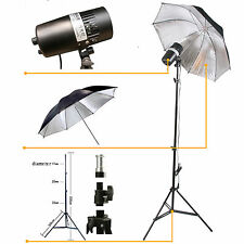 150W FLASH/STROBOSCOPICO WIRELESS SOFTBOX Studio LUCE HIP HOP KIT Fotografia
