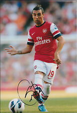 Santi CAZORLA Signed Autograph Photo AFTAL COA ARSENAL Premier League Spain RARE