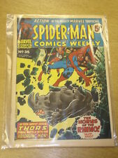 SPIDERMAN BRITISH WEEKLY #35 1973 OCT 13 MARVEL