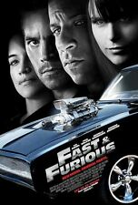 FAST AND FURIOUS 4 MOVIE POSTER 1 Sided ORIGINAL 27x40 VIN DIESEL