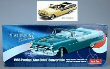 1:18 Sun Star 1955 Pontiac Starchief Star Chief Convertible (5052) Yellow
