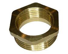 1 Inch x 3/4 Inch Brass Hex Reducing Bush | British Standard Pipe Thread Fitting