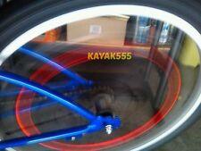 4 X RED LED VALVE STEM RIM TIRE LIGHTS FIT HYUNDAI NISSAN HONDA SATURN BMW ETC.