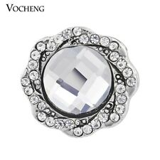 Vocheng Snap Crystal Button 18mm Interchangeable Jewelry Vn-950