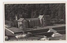 Callis Court Manor, Model Village Hastings RP Postcard, B111