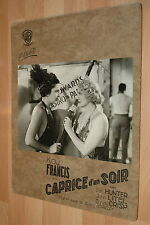 KAY FRANCIS COMET OVER BROADWAY BUSBY BERKELEY 1938 VINTAGE LOBBY CARD #1