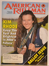 "Magazine American Rifleman, MARCH 1997 ""ROSSI Model: 62 SA RIFLE"""