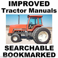 Allis Chalmers 8010 8030 8050 8060 Tractors SERVICE REPAIR WORKSHOP MANUAL CD