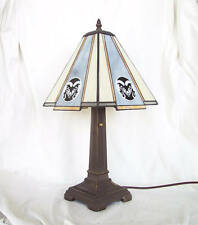 Stained Glass Colorado State University Rams Mission Desk Lamp Office