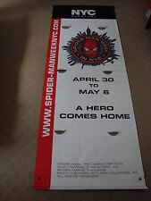 8 Foot SPIDER-MAN 3 Banner from New York City Spider-Man Week (2 sided)