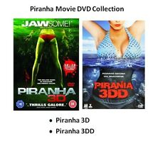 PIRANHA 3D / 3DD DVD 2 Movie Film Collection Brand New Sealed Original Release