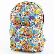 Pokemon Go Pastel Stacked Characters Backpack School Book Bag Rare