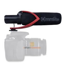 Commlite Camera Mounted Condenser Shotgun Mic Microphone For Canon DSLR Video