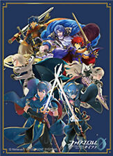 Fire Emblem Cipher Blue Background Lords C91 Sleeves New Pack Unopened
