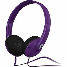 Skullcandy Uprock On Ear Headphones Purple Wired 3.5mm