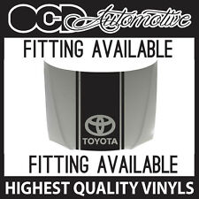 TOYOTA BONNET STRIPE DECAL GRAPHIC CELICA SUPRA COROLLA MR2 YARIS AURIS VIPER