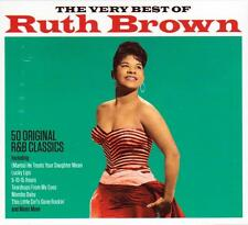 RUTH BROWN - THE VERY BEST OF - 50 ORIGINAL R&B CLASSICS (NEW SEALED 2CD)