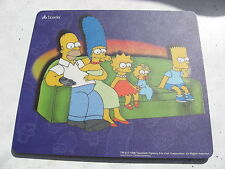 SIMPSONS ON SOFA MOUSE MOUSEMAT MAT UNUSED.