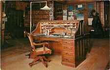 Thomas Edison's Personal Desk, Office-Library,  West Orange NJ Laboratory