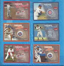 2004 GREATS OF THE GAME FOREVER 6 CARD LOT STAN MUSIAL BOB GIBSON DUKE SNIDER +