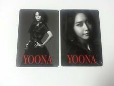 SNSD K-POP Girls' Generation 3rd Japan Arena Tour Yoona Official Photocard 2p