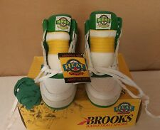 VINTAGE BROOKS BASKETBALL SHOES HIGH TOPS MEN'S DOMINIQUE WILKINS, SIZE 10.5