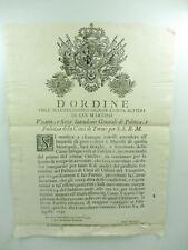 D'ordine del Conte Alfieri di San Martino, macelli, Torino