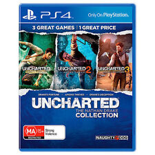 "Uncharted The Nathan Drake Collection PS4 Games Sony Playstation 4 New ""on sale"""