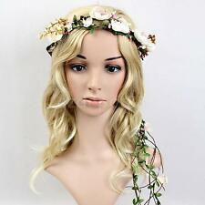 Colorful Flower Festival Wedding Party Garland Head Wreath Crown Floral Gift