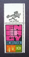 Sc #1547 ~ 10 ct Energy Conservation Issue
