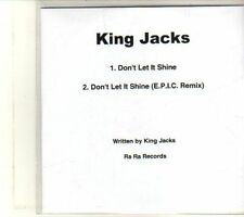(DT53) King Jacks, Don't Let It Shine - 2012 DJ CD