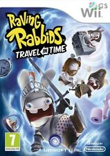 Raving Rabbids Travel In Time Nintendo Wii * NEW SEALED PAL *