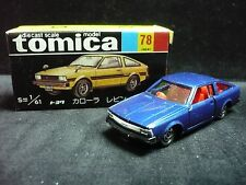VINTAGE TOMICA 78 TOYOTA COROLLA LEVIN JAPAN RARE