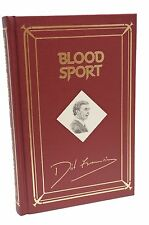 Blood Sport Signed Dick Francis Limited Edition Rare Book Lettered Edition