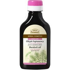 GREEN PHARMACY HERBAL BURDOCK OIL HAIR CARE NATURAL COSMETICS WITH HORSETAIL